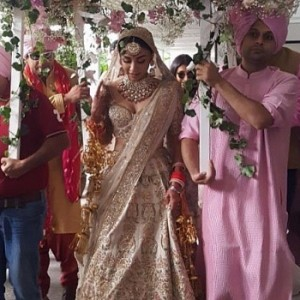 Actress Amrita Puri wedding
