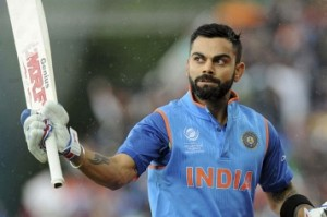 Kohli breaks Ganguly's record of most tons by Indian captain