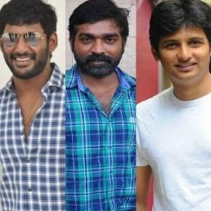 Exciting updates on Vishal, Jiiva and Vijay Sethupathi projects!