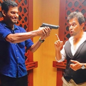 Important update on Vishal's Irumbu Thirai!