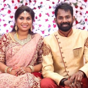 Actor Ramesh Thilak And Navalakshmi Reception