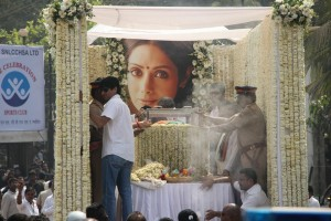 Sridevi's Final Journey - Funeral Photos