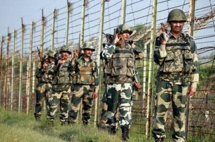 Four BSF jawans killed in Pakistan firing in Jammu.