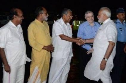 PM Modi at Kochi, aerial survey of Kerala cancelled due to rains