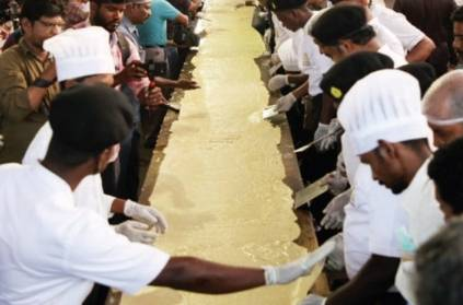 100-feet dosa at IIT Madras eyes Guinness records