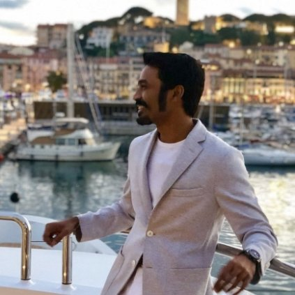 Dhanush attends the 71st Cannes Film Festival 2018