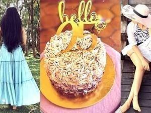 Gorgeous actress turns 25; celebrates birthday in style - Pics storm the Internet!