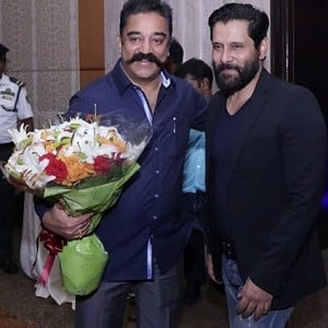 WOW Its Official! Kamal Haasan and Vikram come together for a film!