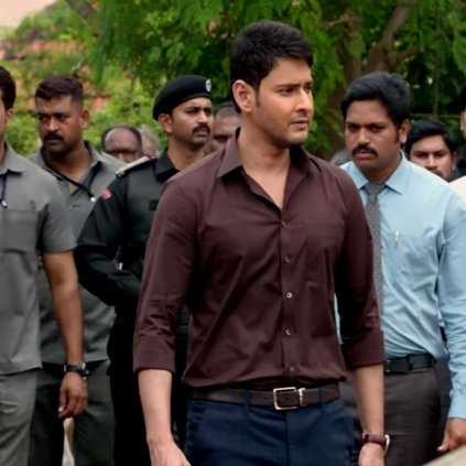 The song of Bharat video song from Bharat Ane Nenu