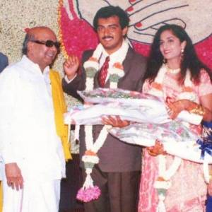 List of film star weddings that Karunanidhi attended