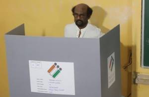 Tamil film personalities casting their vote for 2019 elections